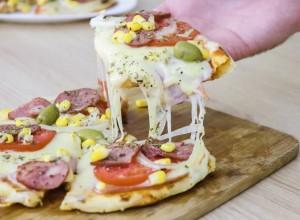 Pizza de frigideira