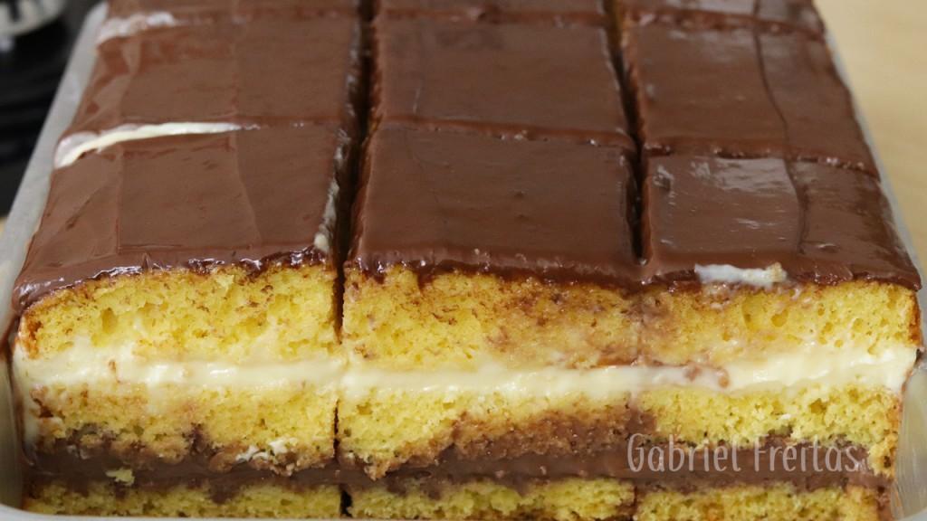 bolo de ninho com chocolate