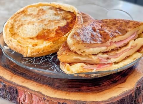 pãozinho de queijo recheado
