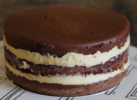 Massa para bolo de chocolate